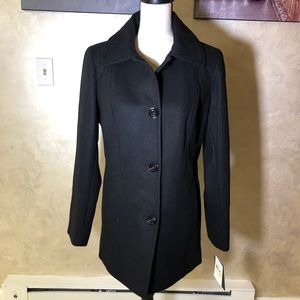 Beautiful Black London Fog PeaCoat